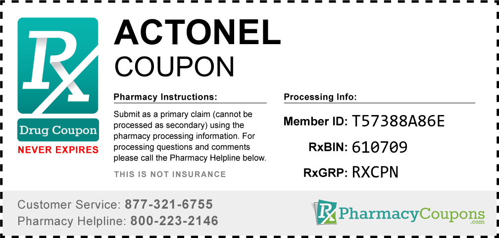 Actonel Prescription Drug Coupon with Pharmacy Savings