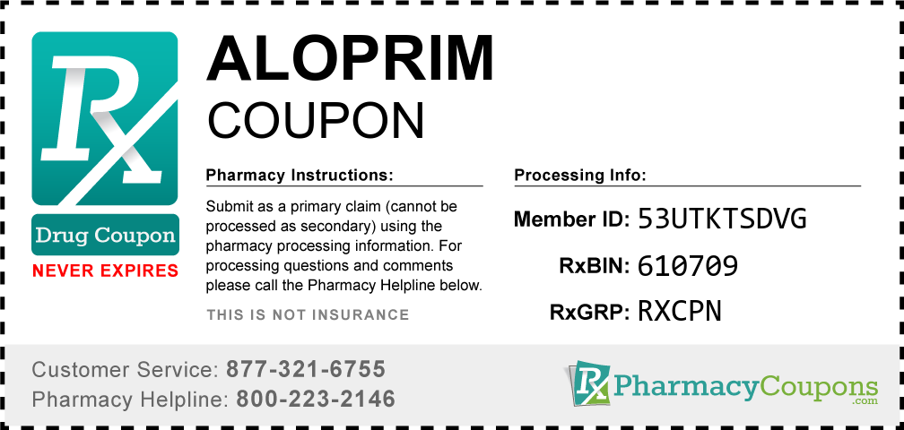 Aloprim Prescription Drug Coupon with Pharmacy Savings