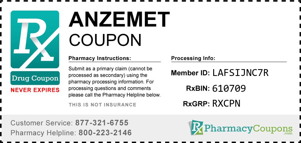 Anzemet Prescription Drug Coupon with Pharmacy Savings