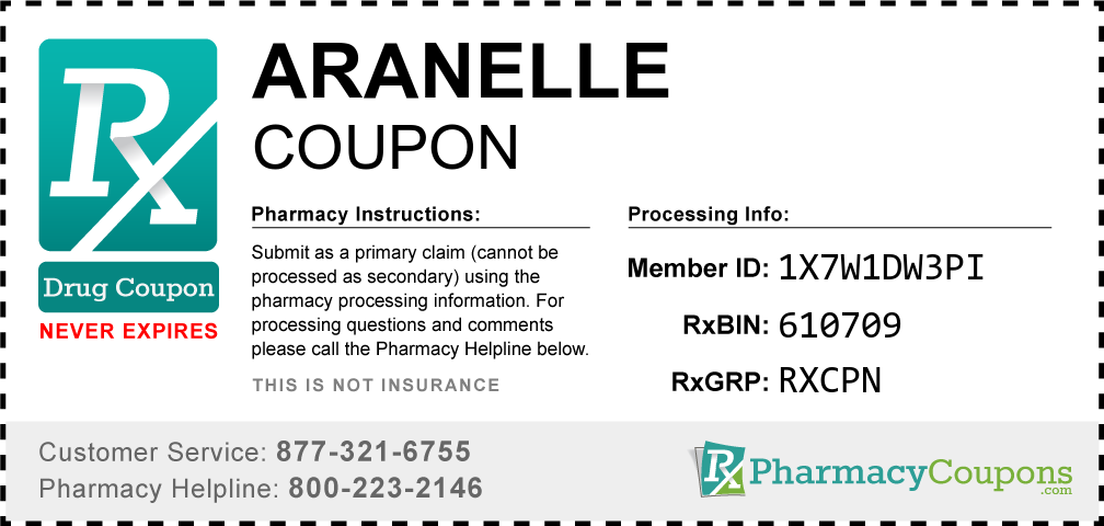 Aranelle Prescription Drug Coupon with Pharmacy Savings