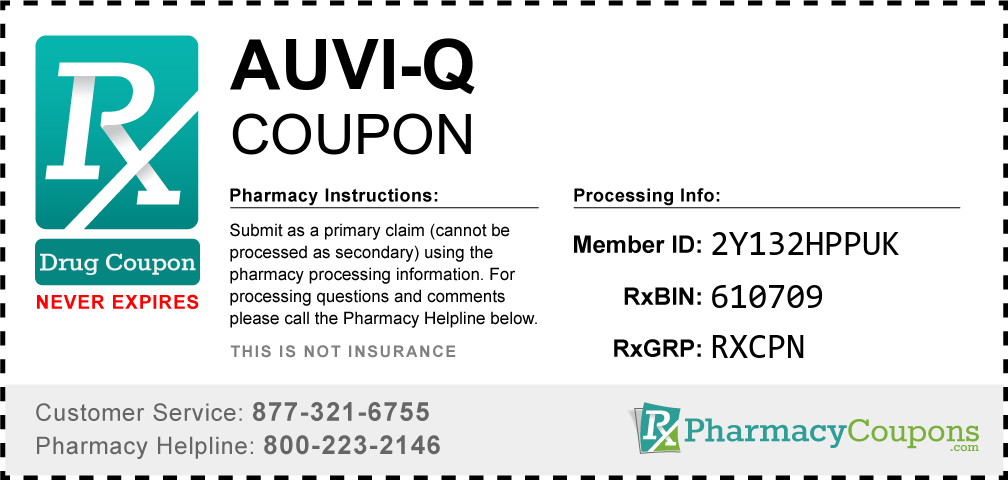 Auvi-q Prescription Drug Coupon with Pharmacy Savings