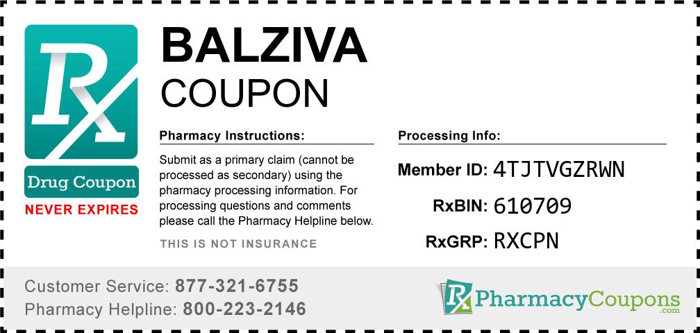 Balziva Prescription Drug Coupon with Pharmacy Savings