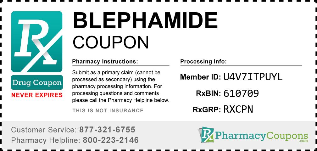 Blephamide Prescription Drug Coupon with Pharmacy Savings