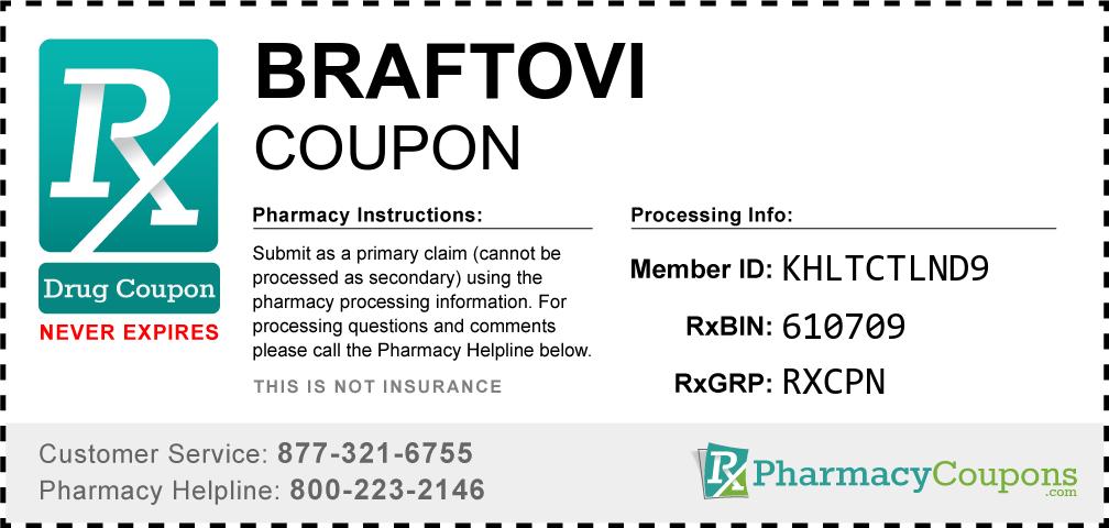 Braftovi Prescription Drug Coupon with Pharmacy Savings