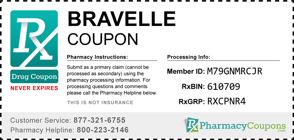 Bravelle Prescription Drug Coupon with Pharmacy Savings