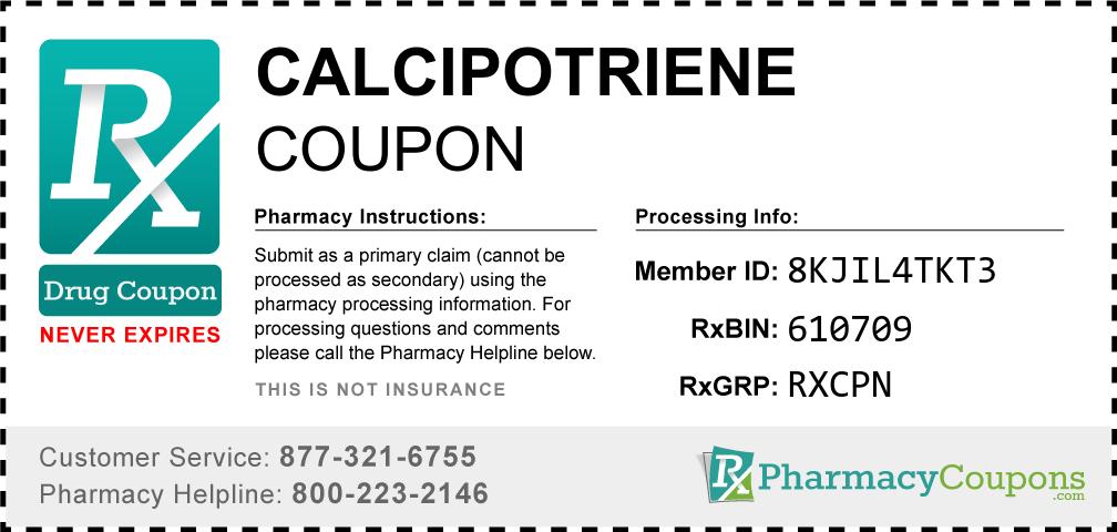 Calcipotriene Prescription Drug Coupon with Pharmacy Savings