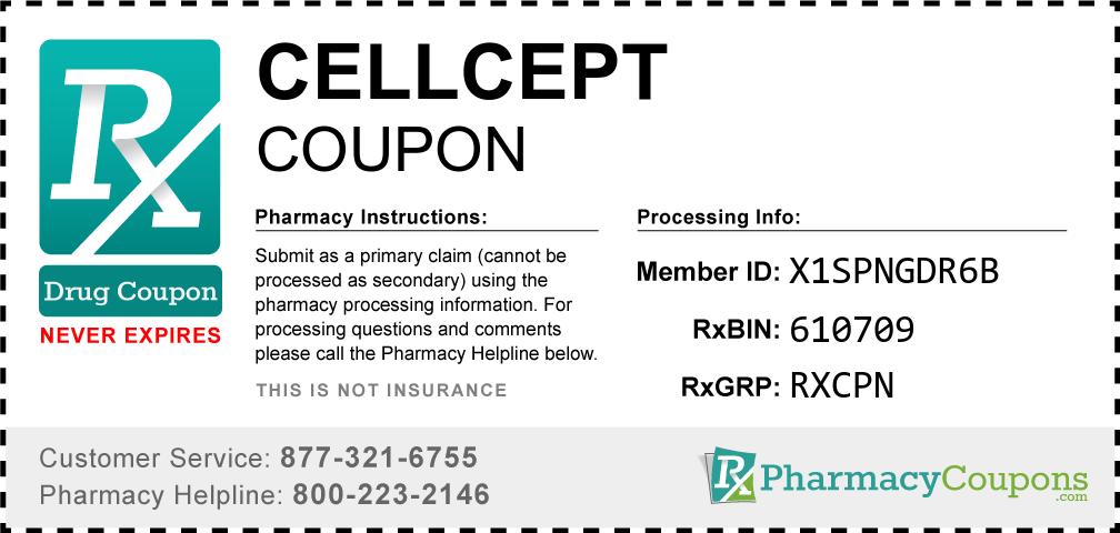 Cellcept Prescription Drug Coupon with Pharmacy Savings