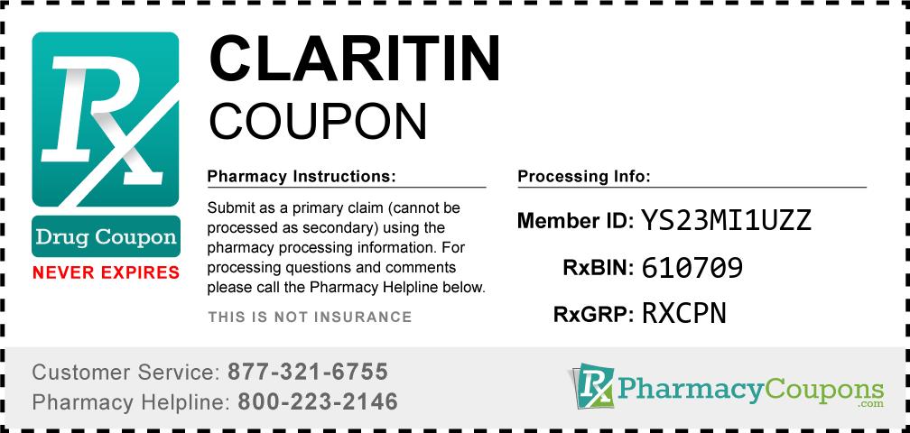 Claritin Prescription Drug Coupon with Pharmacy Savings
