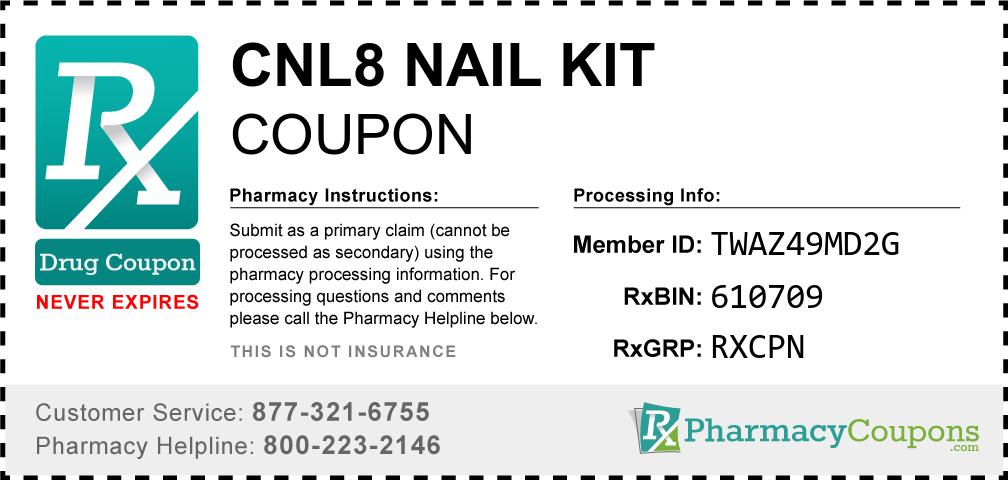 Cnl8 nail kit Prescription Drug Coupon with Pharmacy Savings