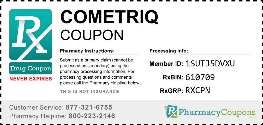 Cometriq Prescription Drug Coupon with Pharmacy Savings