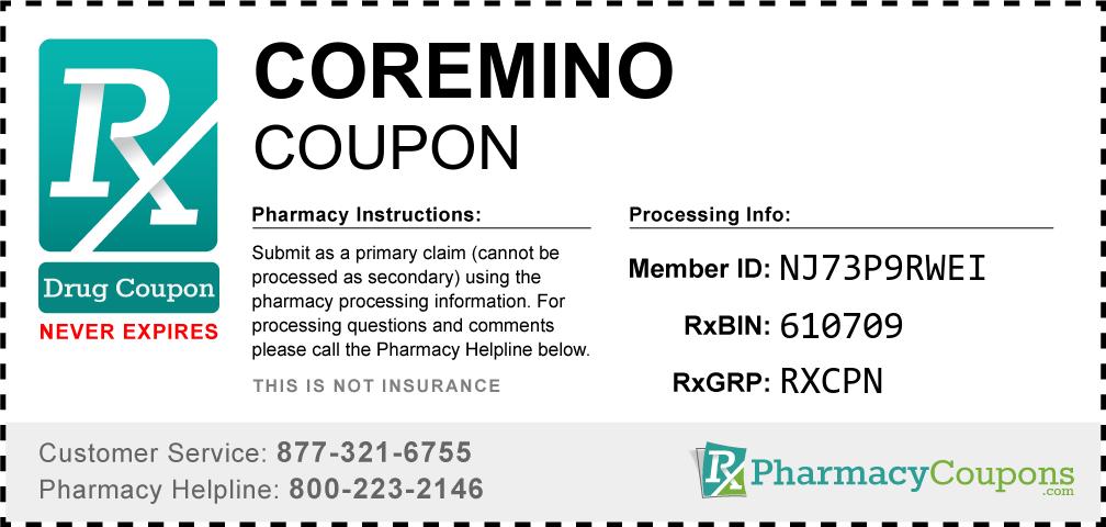 Coremino Prescription Drug Coupon with Pharmacy Savings