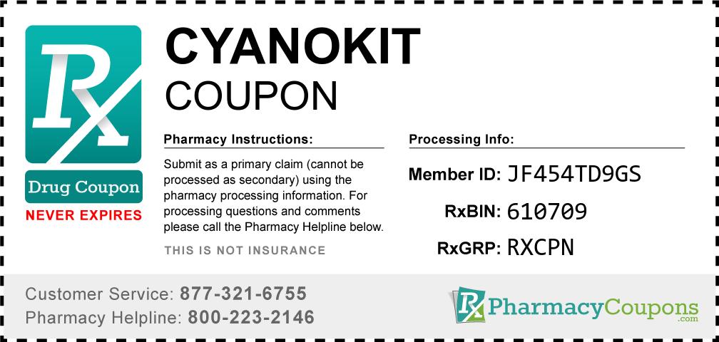 Cyanokit Prescription Drug Coupon with Pharmacy Savings