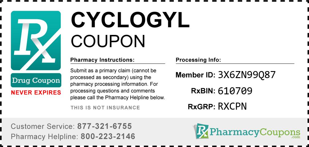 Cyclogyl Prescription Drug Coupon with Pharmacy Savings