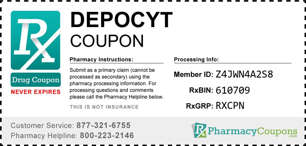 Depocyt Prescription Drug Coupon with Pharmacy Savings