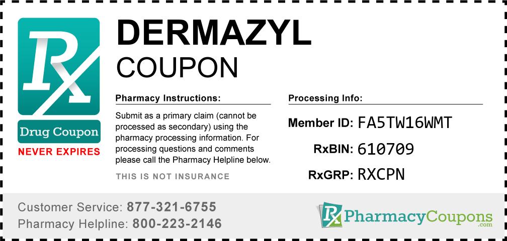Dermazyl Prescription Drug Coupon with Pharmacy Savings