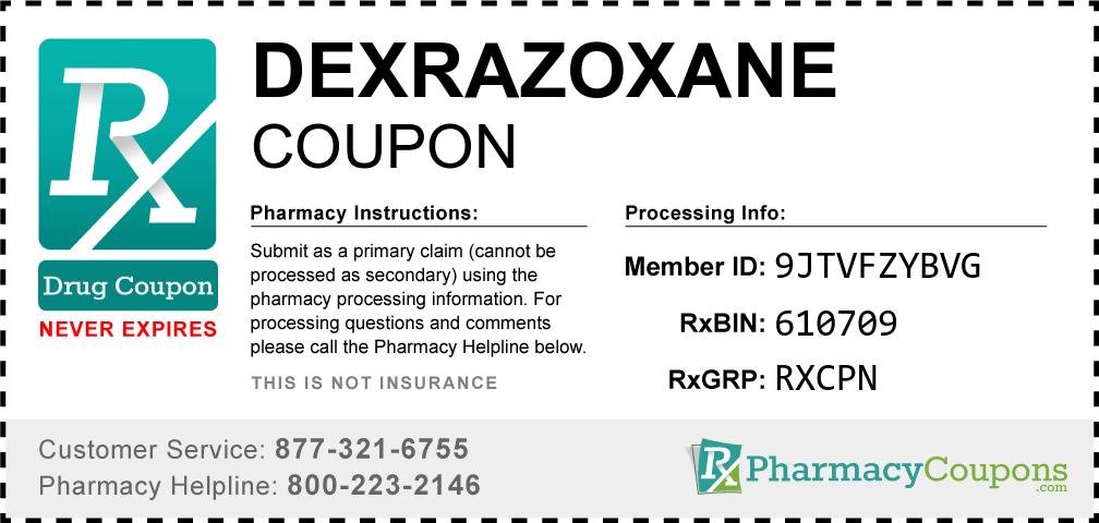 Dexrazoxane Prescription Drug Coupon with Pharmacy Savings