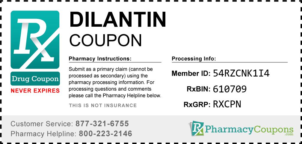 Dilantin Prescription Drug Coupon with Pharmacy Savings