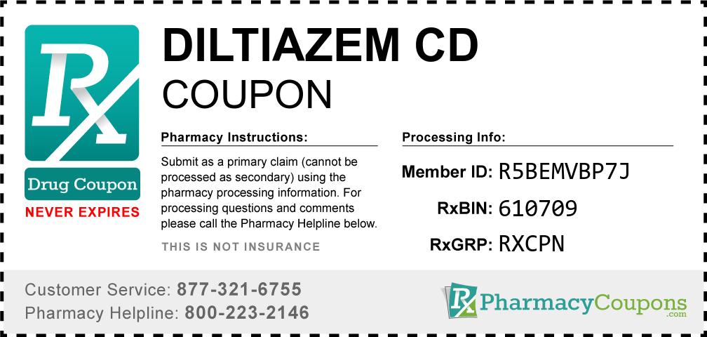 Diltiazem cd Prescription Drug Coupon with Pharmacy Savings