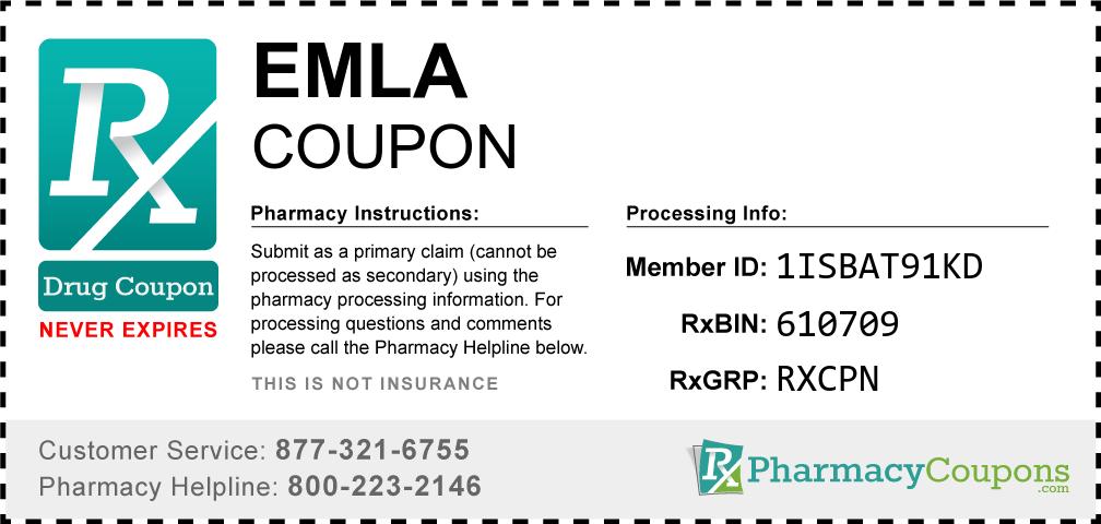 Emla Prescription Drug Coupon with Pharmacy Savings