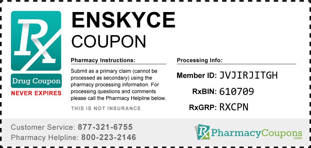 Enskyce Prescription Drug Coupon with Pharmacy Savings