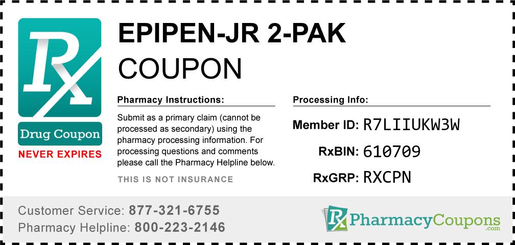 Epipen-jr 2-pak Prescription Drug Coupon with Pharmacy Savings