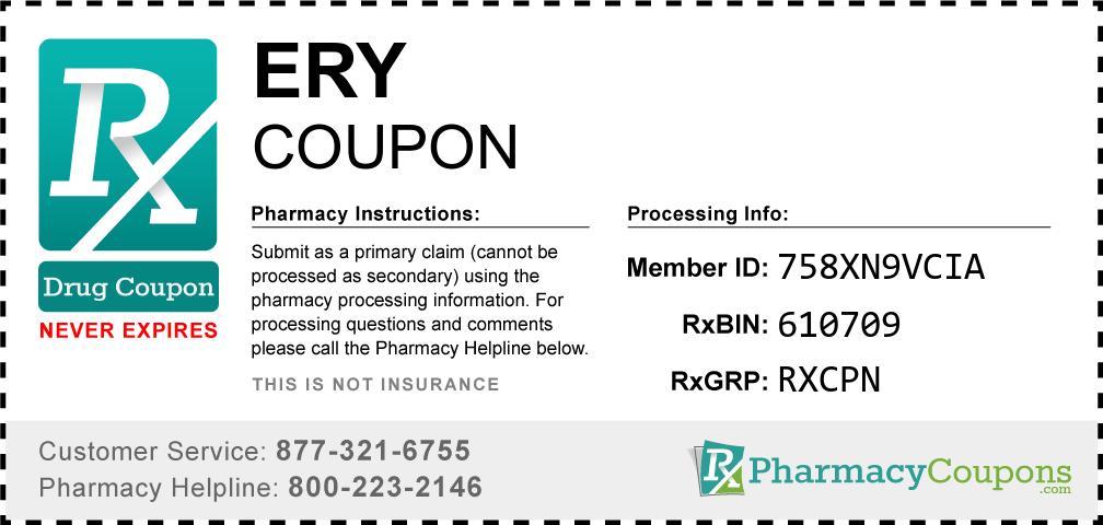 Ery Prescription Drug Coupon with Pharmacy Savings