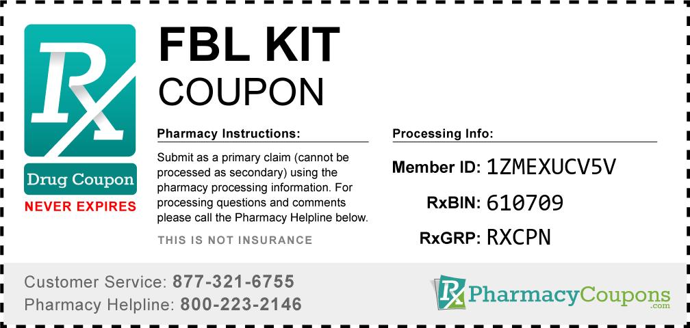 Fbl kit Prescription Drug Coupon with Pharmacy Savings