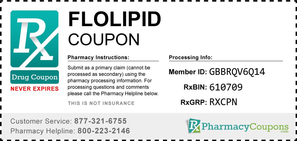 Flolipid Prescription Drug Coupon with Pharmacy Savings