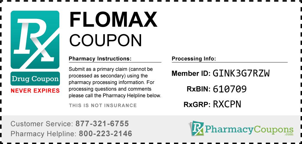 Flomax Prescription Drug Coupon with Pharmacy Savings
