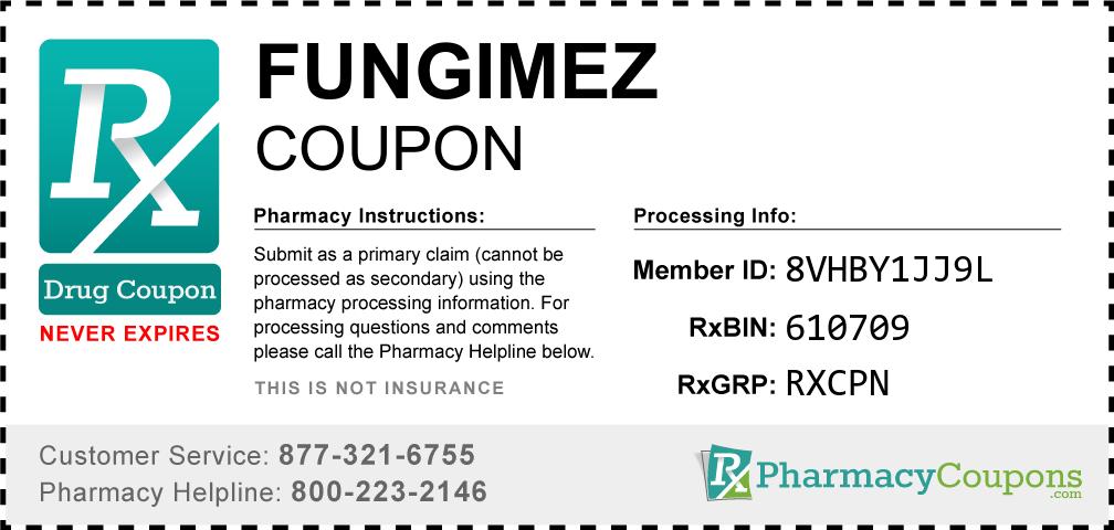 Fungimez Prescription Drug Coupon with Pharmacy Savings