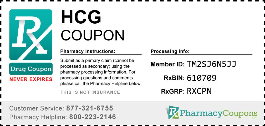 Hcg Prescription Drug Coupon with Pharmacy Savings