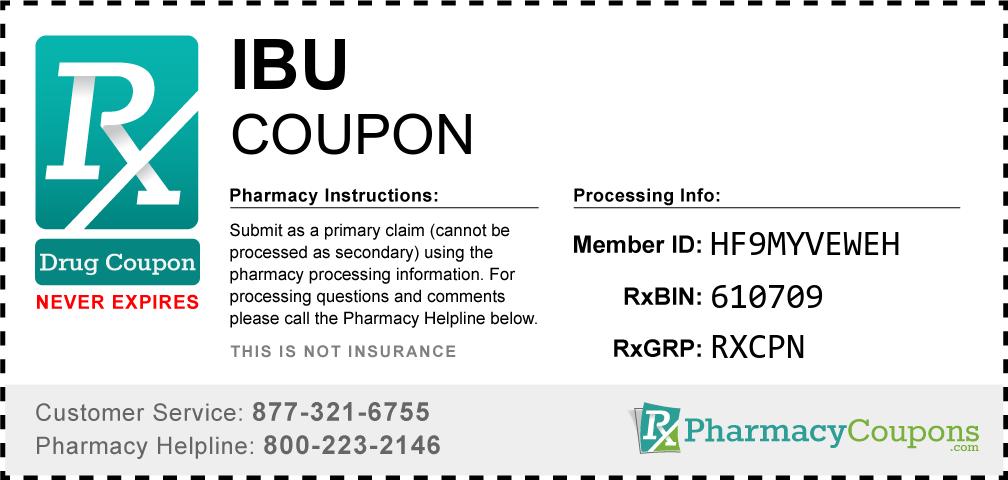 Ibu Prescription Drug Coupon with Pharmacy Savings