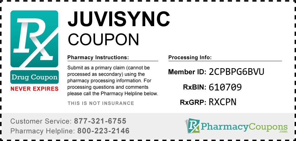 Juvisync Prescription Drug Coupon with Pharmacy Savings