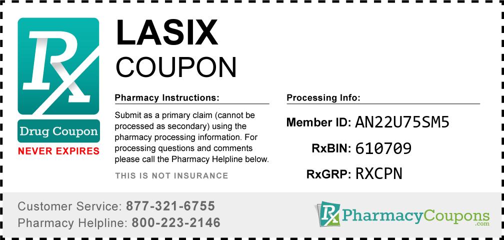 Lasix Prescription Drug Coupon with Pharmacy Savings