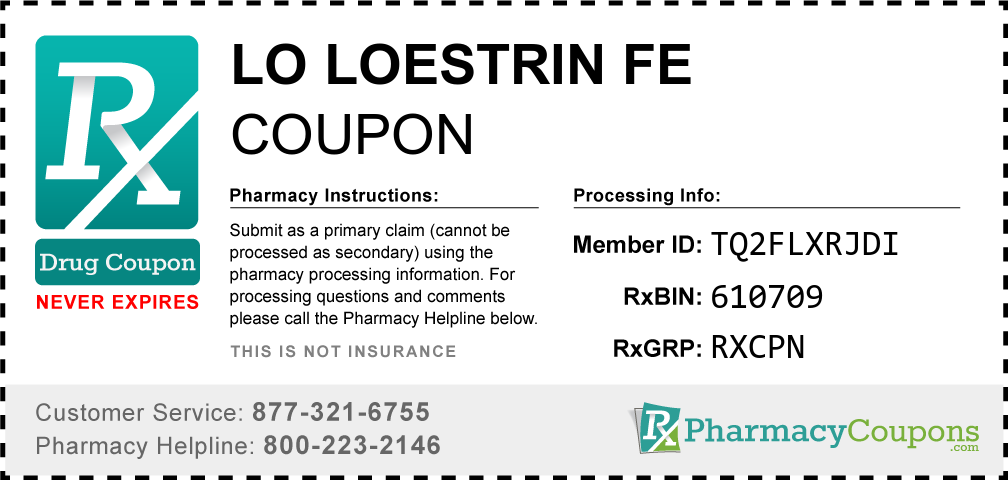 Lo Loestrin Fe Coupon 2020 Pay No More Than 25 Manufacturer Offer
