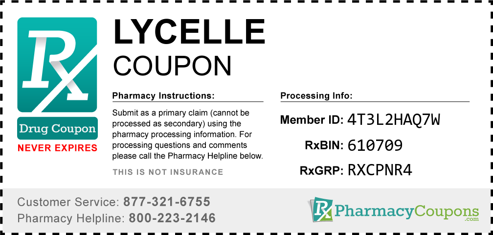 Lycelle Prescription Drug Coupon with Pharmacy Savings