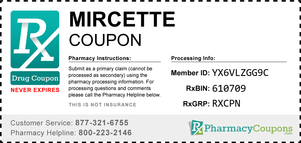 Mircette Coupon Pharmacy Discounts Up To 80