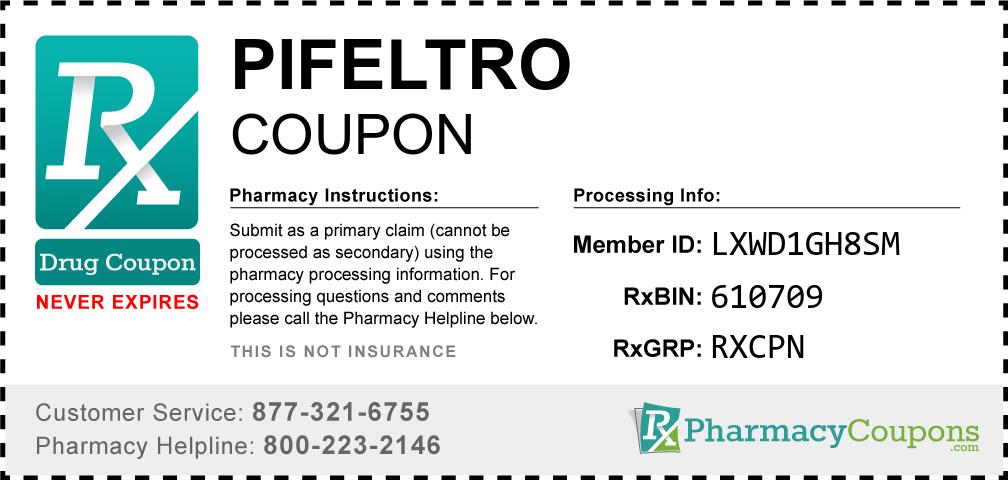 Pifeltro Prescription Drug Coupon with Pharmacy Savings