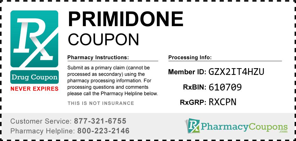 Primidone Prescription Drug Coupon with Pharmacy Savings