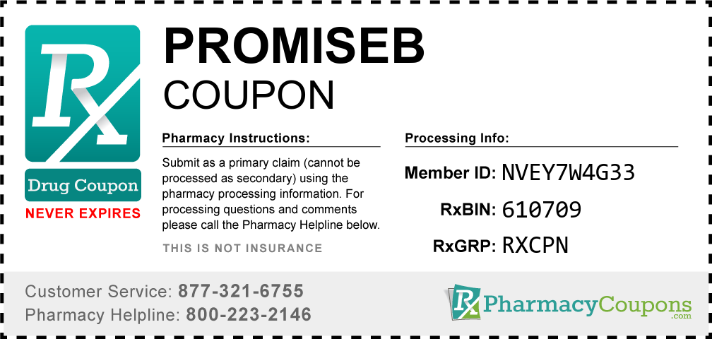 Promiseb Prescription Drug Coupon with Pharmacy Savings