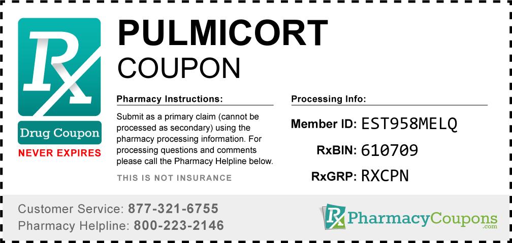 Pulmicort Prescription Drug Coupon with Pharmacy Savings
