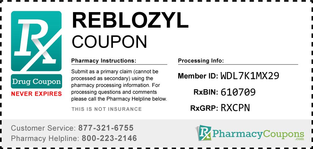 Reblozyl Prescription Drug Coupon with Pharmacy Savings