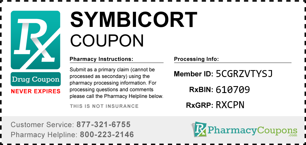 Symbicort Prescription Drug Coupon with Pharmacy Savings