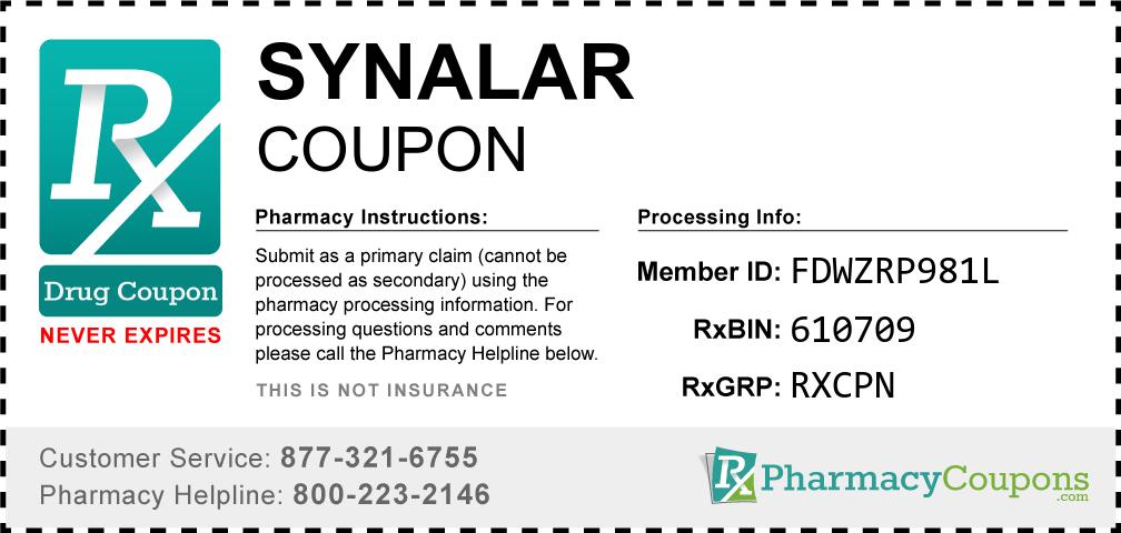 Synalar Prescription Drug Coupon with Pharmacy Savings