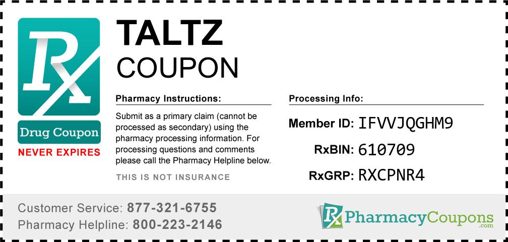 Taltz Prescription Drug Coupon with Pharmacy Savings