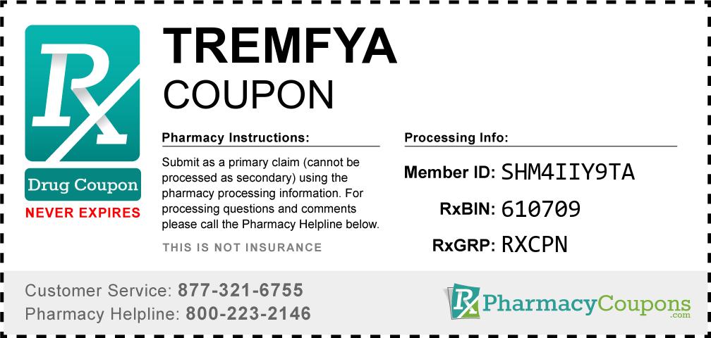 Tremfya Prescription Drug Coupon with Pharmacy Savings