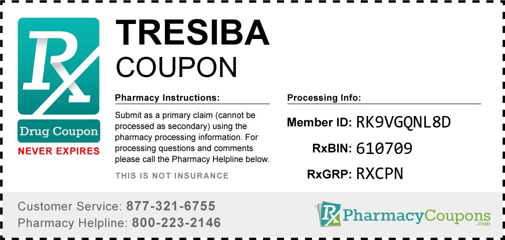 Tresiba Prescription Drug Coupon with Pharmacy Savings