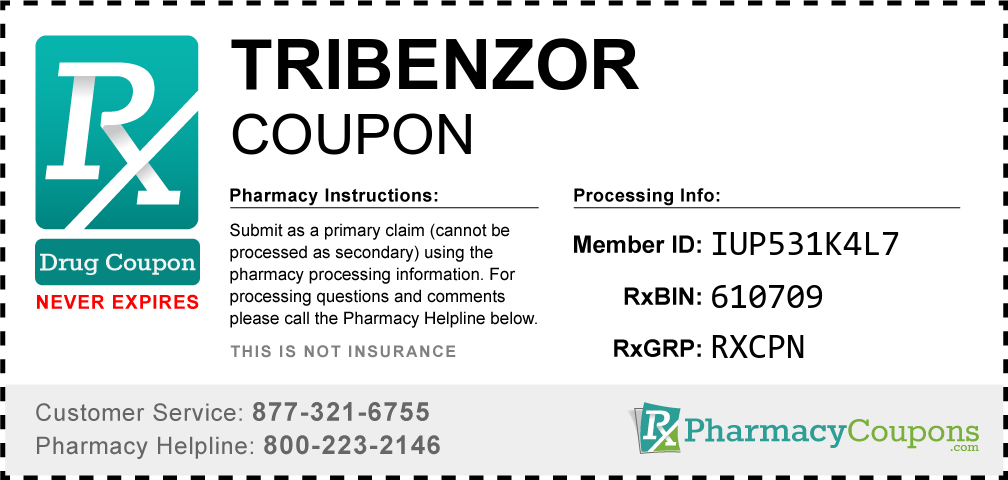Tribenzor Prescription Drug Coupon with Pharmacy Savings