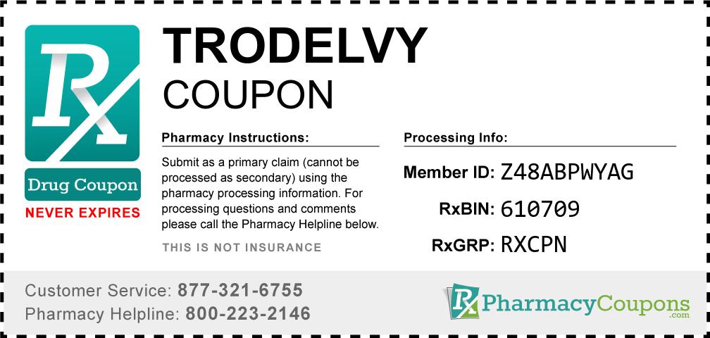 Trodelvy Prescription Drug Coupon with Pharmacy Savings
