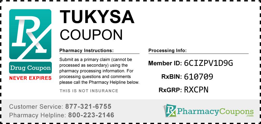 Tukysa Prescription Drug Coupon with Pharmacy Savings